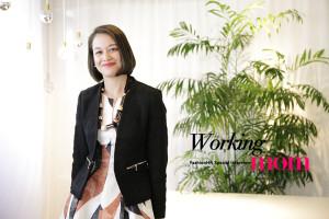 """Fashion HR ワーキングママ インタビュー【2】H&Mジャパン社長  クリスティン・エドマンさんが語る「""""家庭とキャリア""""、選択しなくていい働き方」 −前編−"""