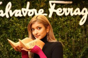 国内最大のサルヴァトーレ フェラガモの旗艦店がリニューアルオープン。イベントにはモデルのローラが登場。
