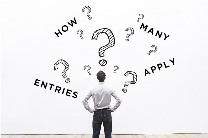 内定までの平均応募数はどのくらい?転職成功者のエントリー数の傾向を調査!