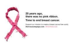 エスティ ローダー グループが女性のために取り組む 「ピンクリボン(乳がん知識啓発)キャンペーン」