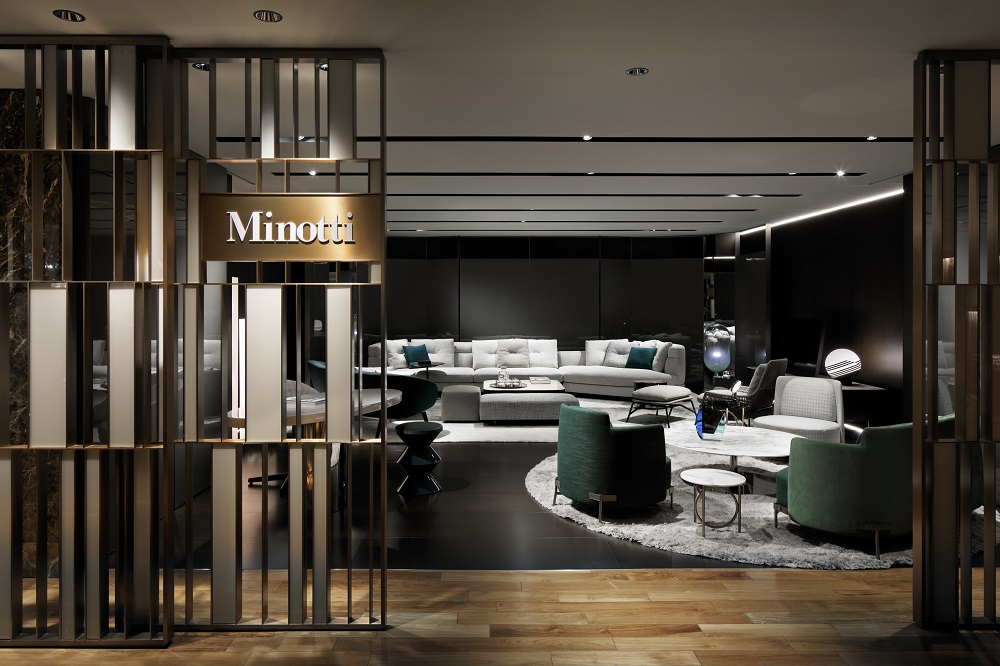 Minotti 日本初のサテライトショップを伊勢丹新宿店にオープン