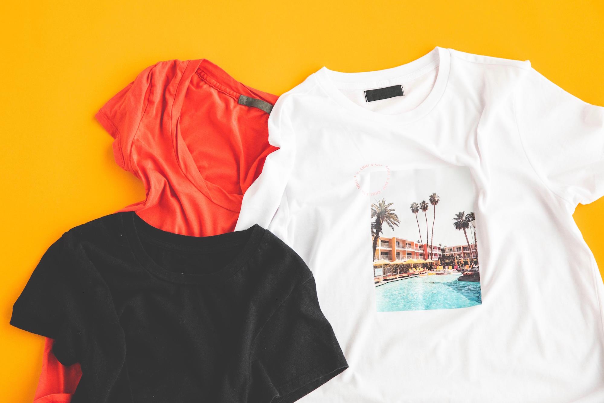 こんなに印象が変わる! Tシャツの種類10選