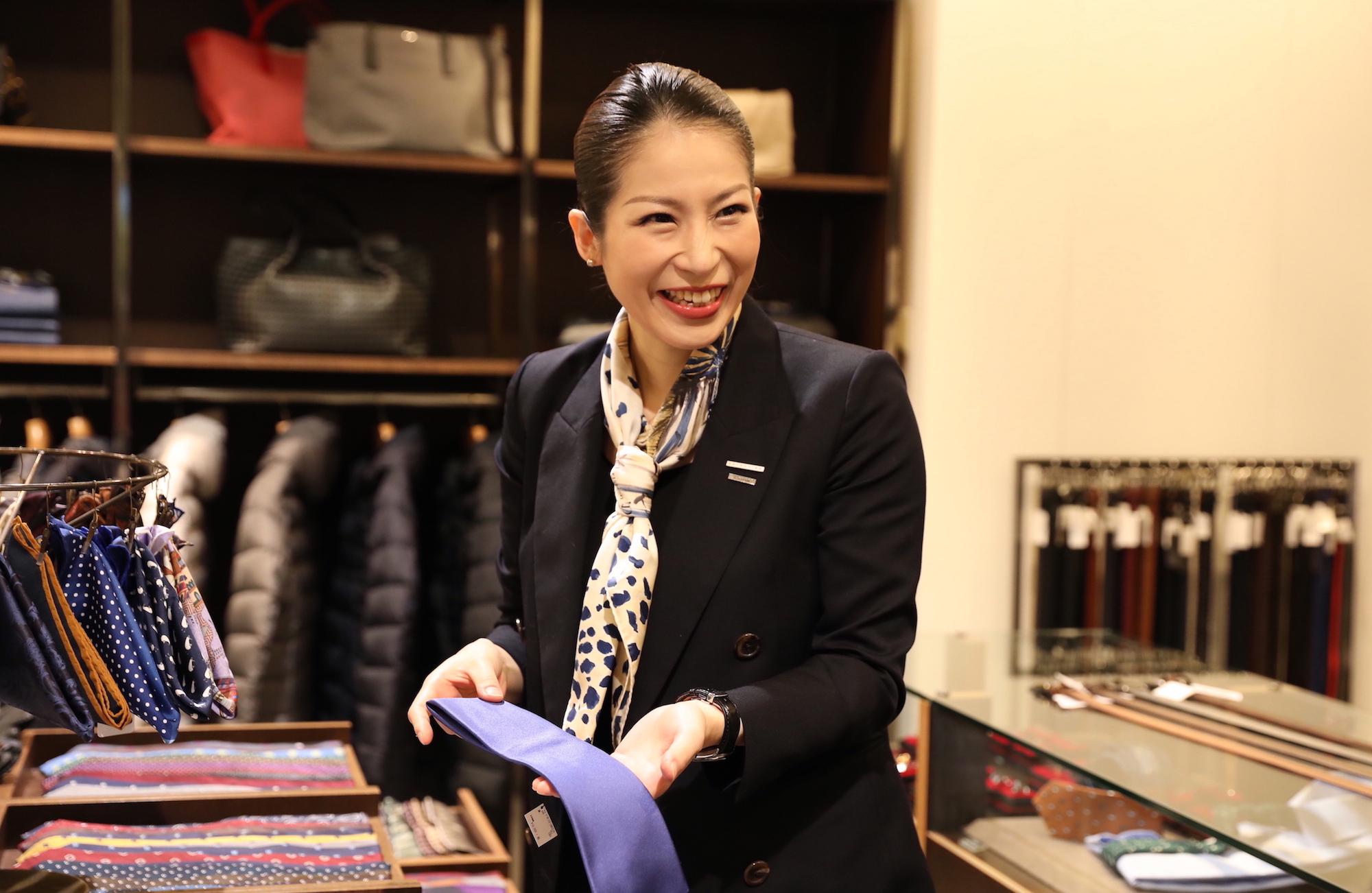 「ライフステージを応援し、より輝かせる仕事」エストネーション有楽町店 濵田るいさんインタビュー
